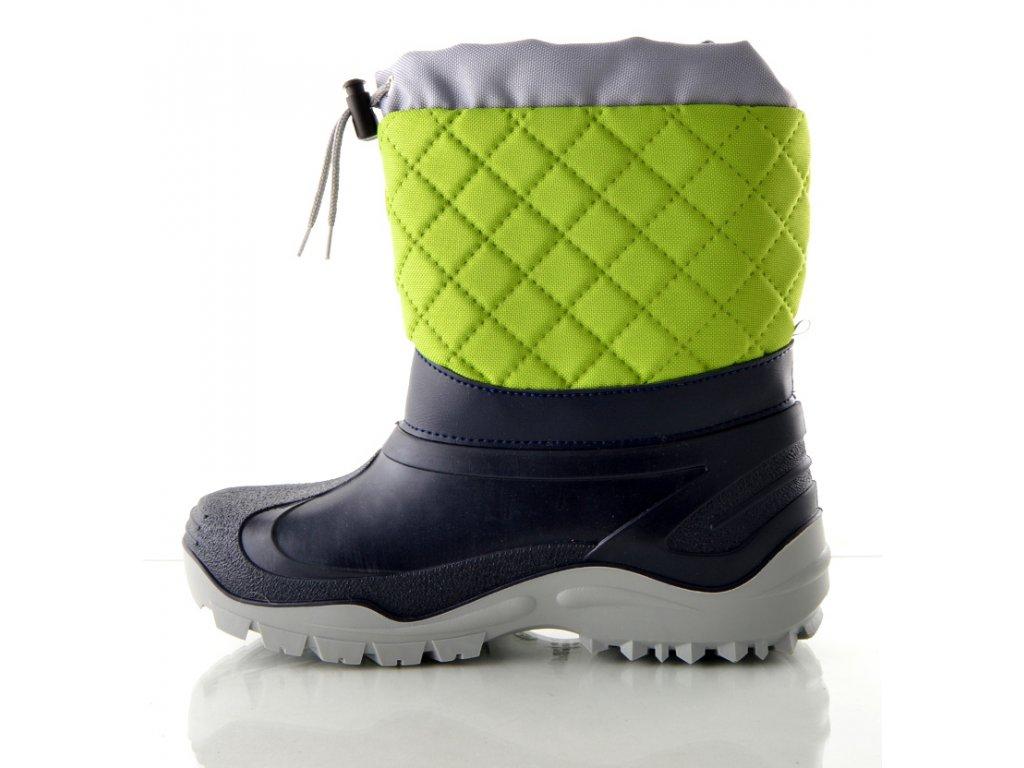 Sněhule MUFLON - zeleno-šedá