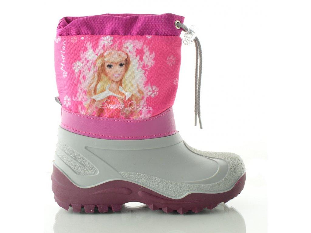 Sněhule MUFLON - růžová princezna