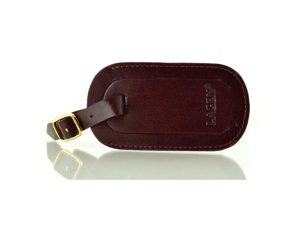 Visačka na kufr - rubin