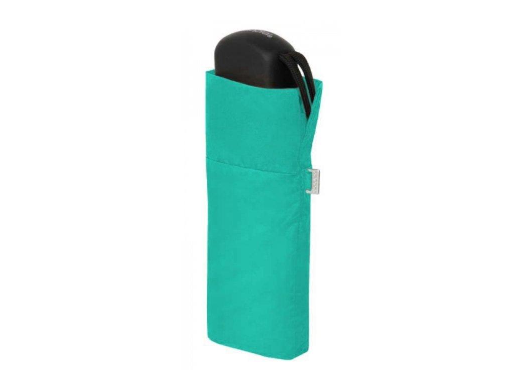 Deštník Handy Uni placatý - tyrkysový