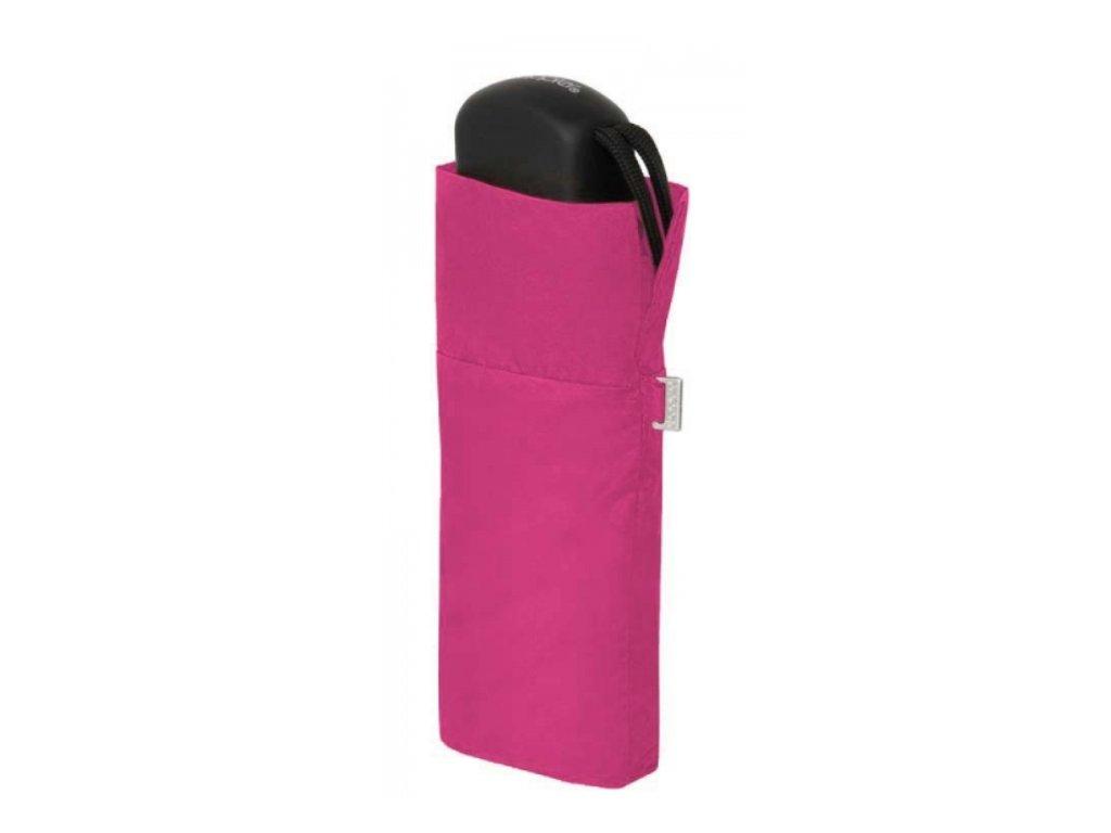 Deštník Handy Uni placatý - růžový