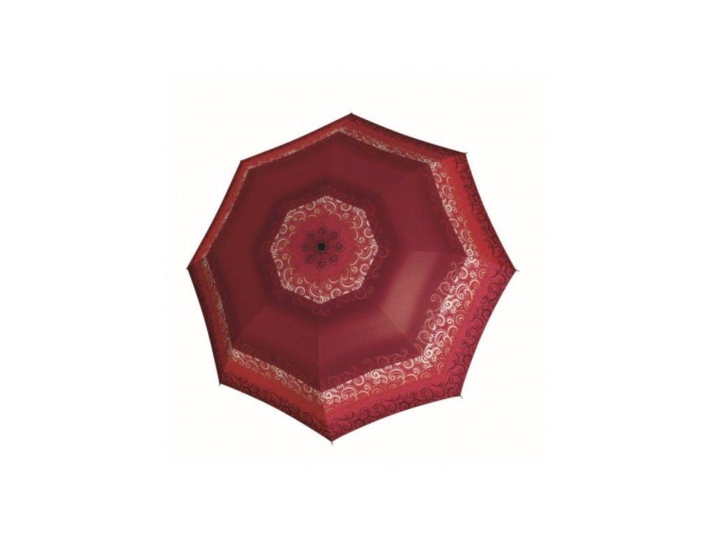 Deštník doppler - červený vzor