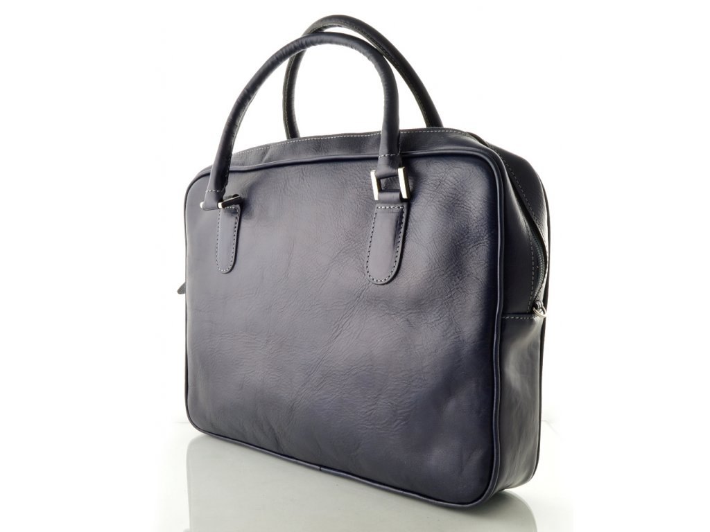 Dámská manažerská taška na notebook - modrá