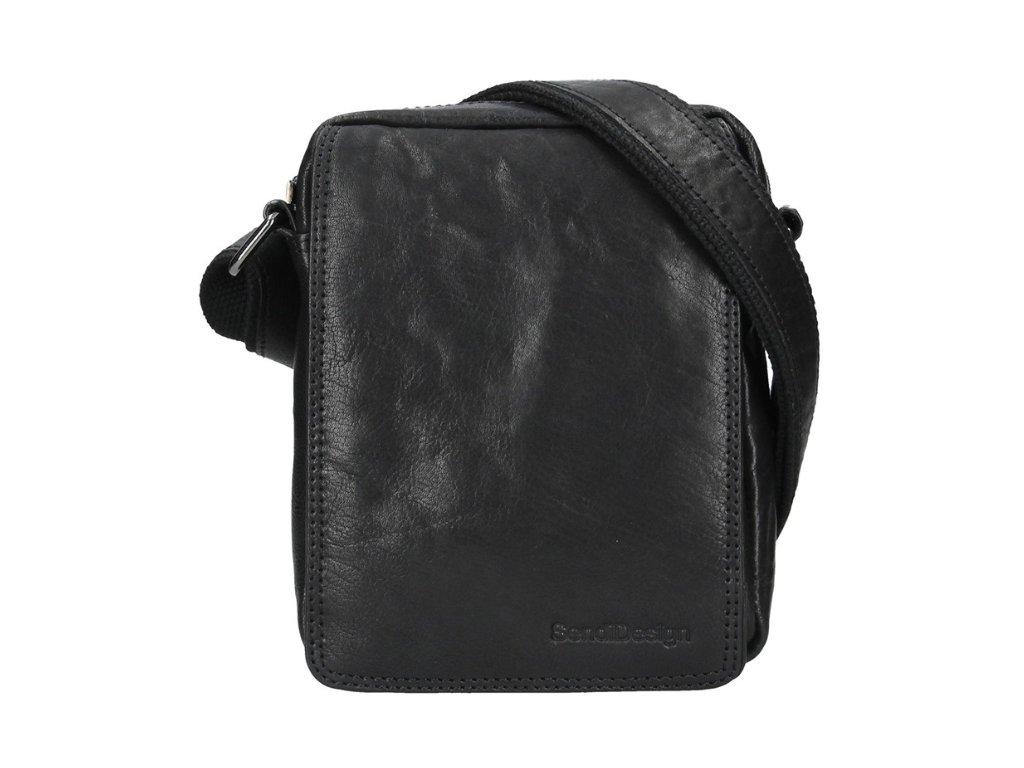 Pánská taška přes rameno Sendi Design - černá
