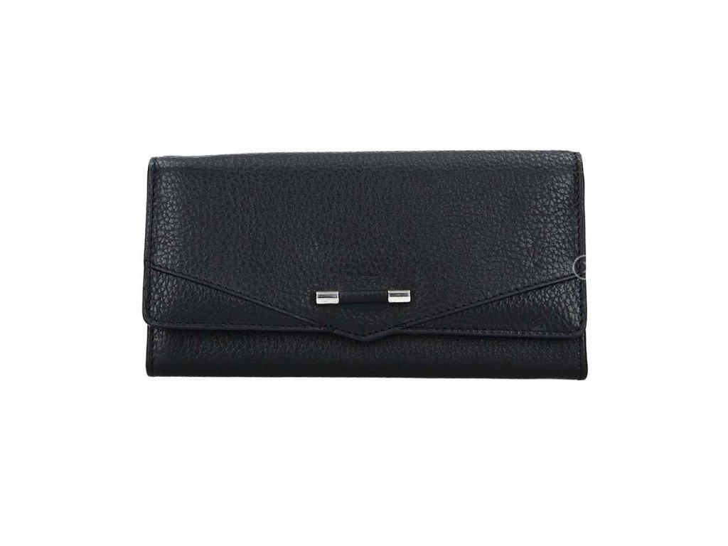 Luxusní kožená peněženka Lagen - černá