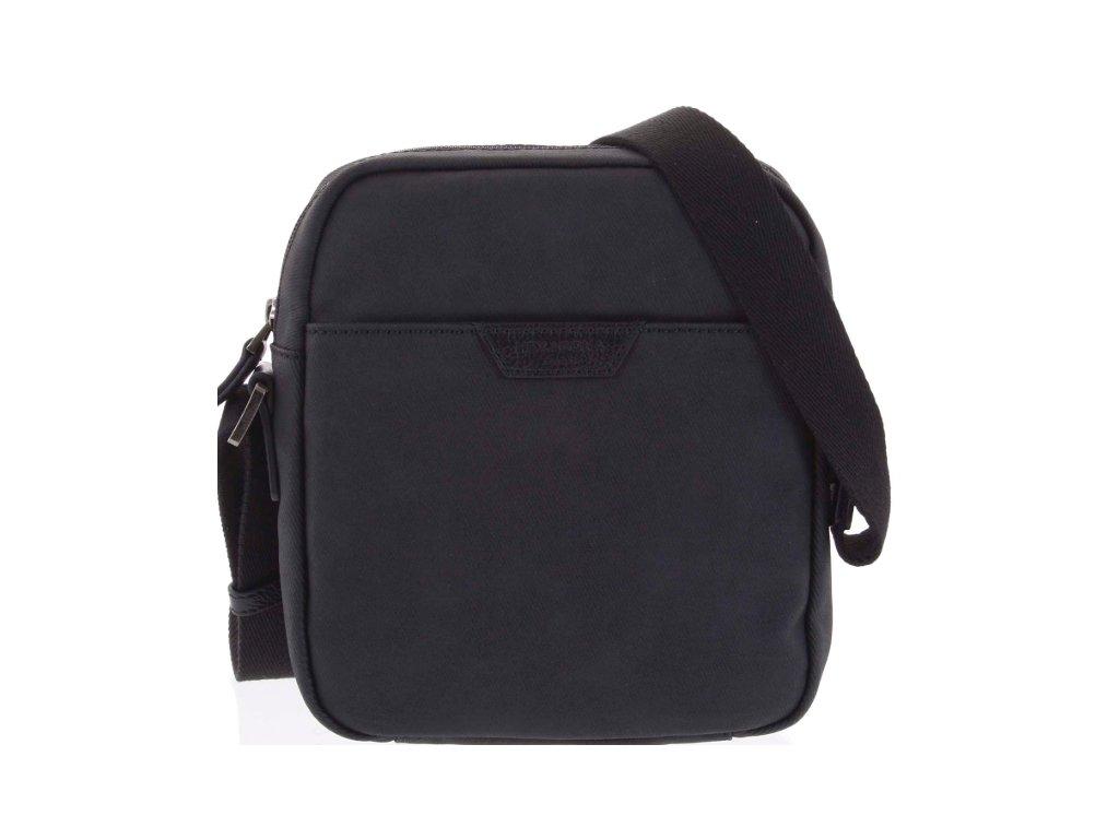 Pánská taška přes rameno Hexagona - černá
