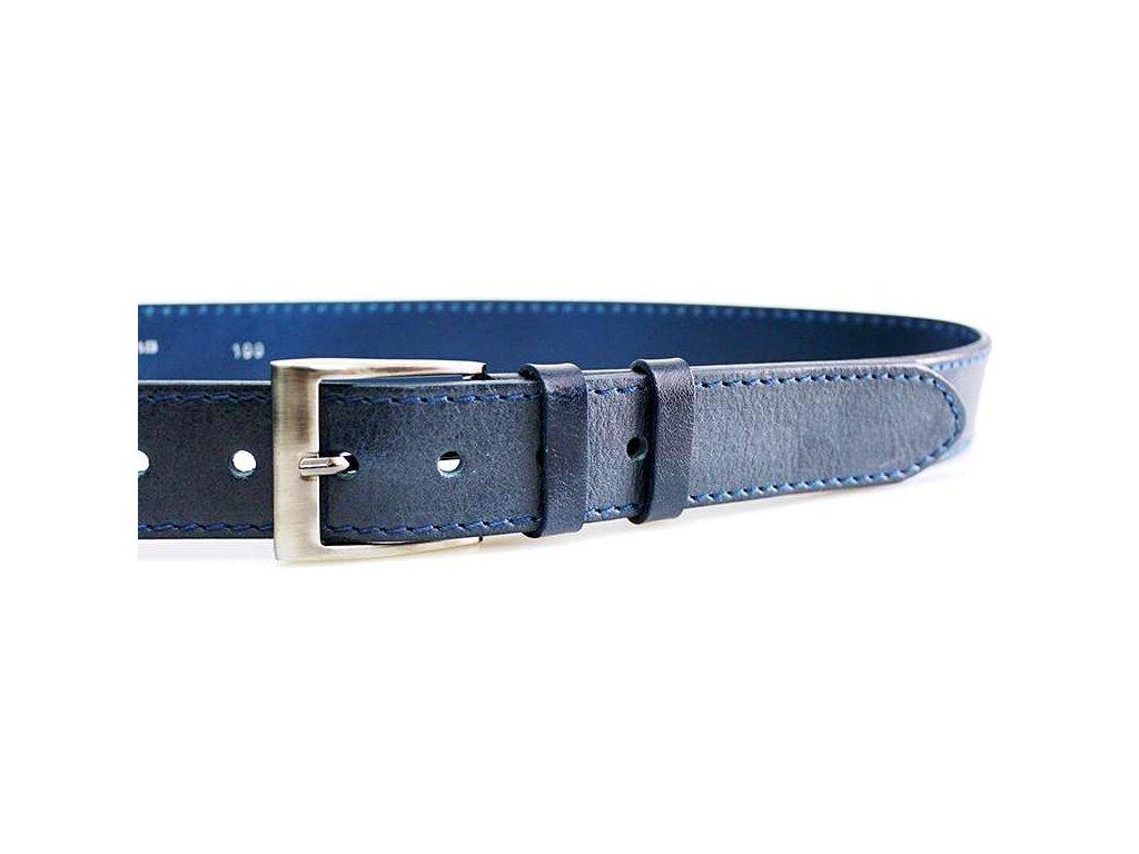 Modrý kožený opasek - Penny Belts