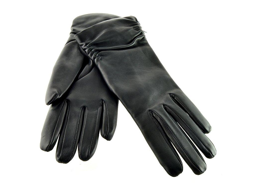 Dámské kožené rukavice Napa - černá - Elegancedoruky.cz d72ece5714