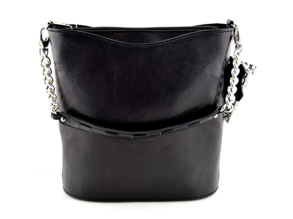 Malá elegantní kabelka Silvercase - černá