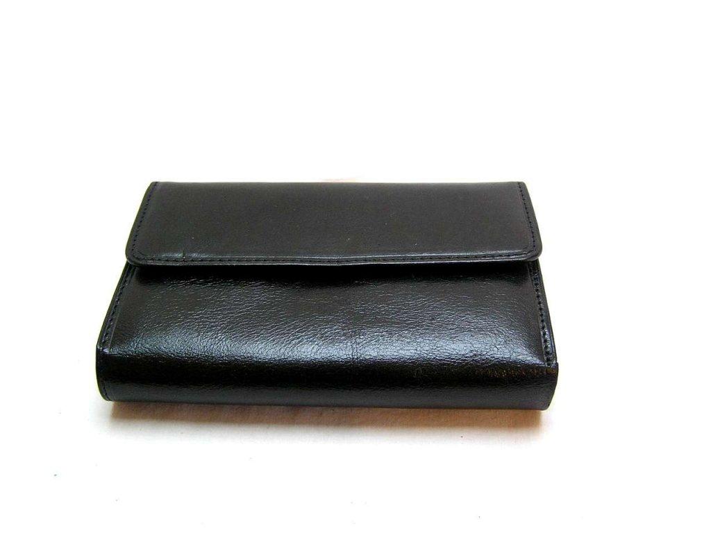 Klasická dámská peněženka - černá