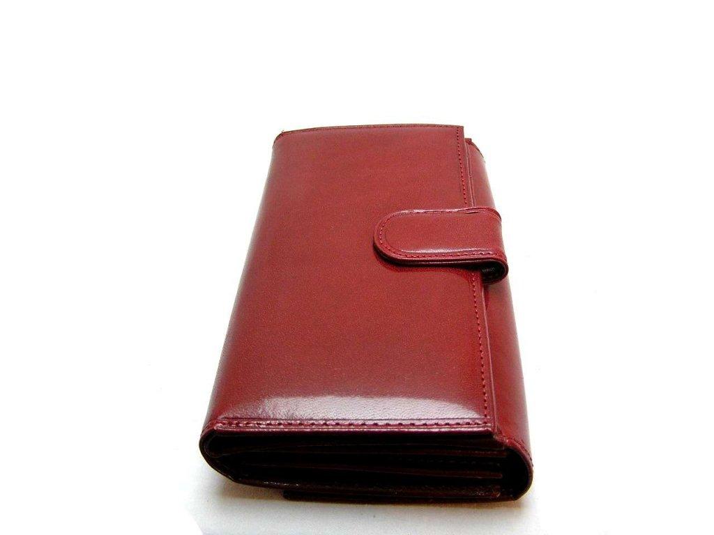Luxusní dámská peněženka červená