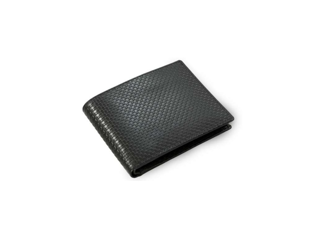 Elegantní kožená peněženka Arwel - černá