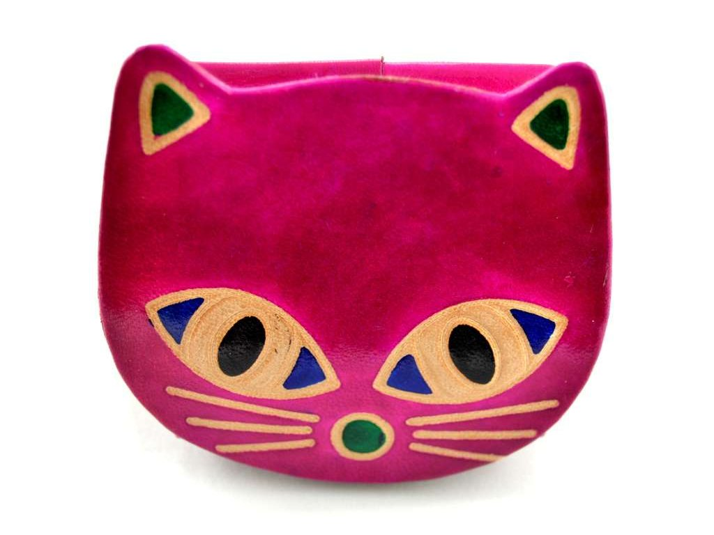 růžová kočička pix