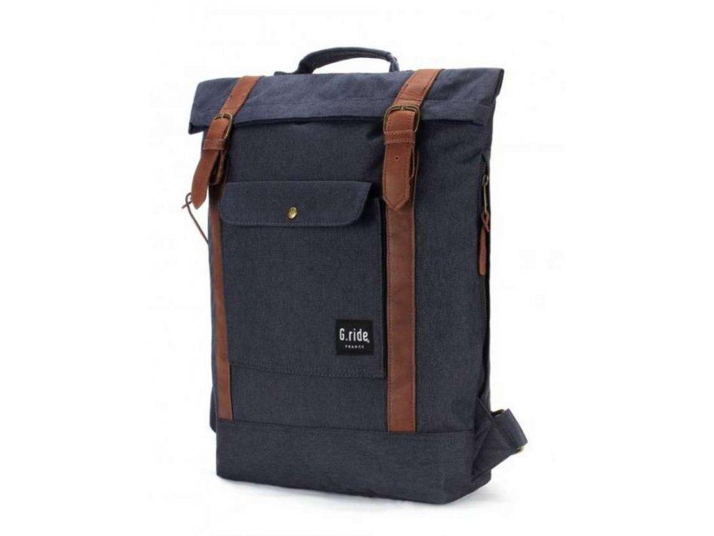 Textilní batoh  G.ride France - tmavě modrý