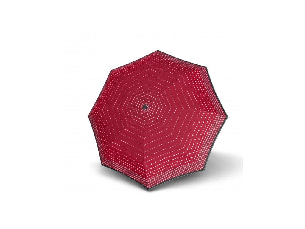 Deštník doppler UV odlehčený - červený puntík