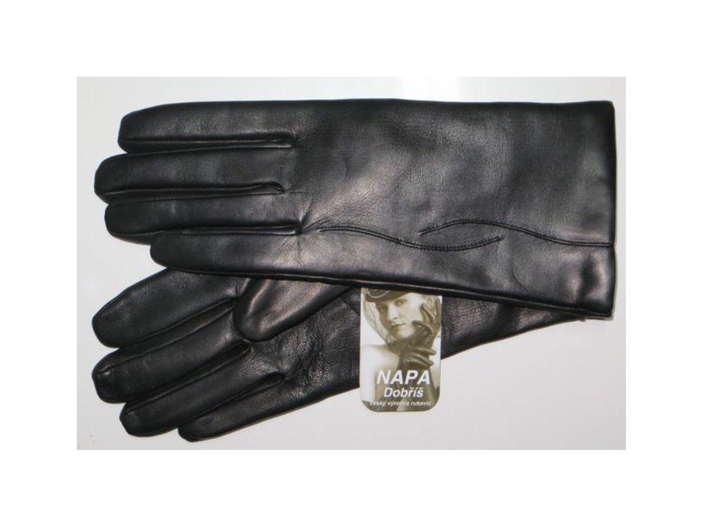 37ef7f67ac1 Kožená dámské rukavice Napa - černé - Elegancedoruky.cz