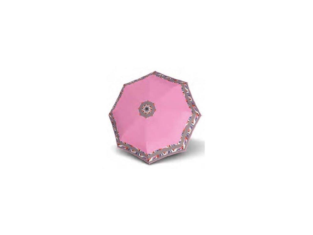 Dámský deštník Doppler Mini Fiber Style - růžový