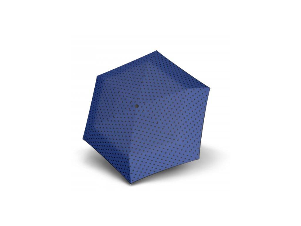 Deštník Hit Micro Dots - modrý puntík