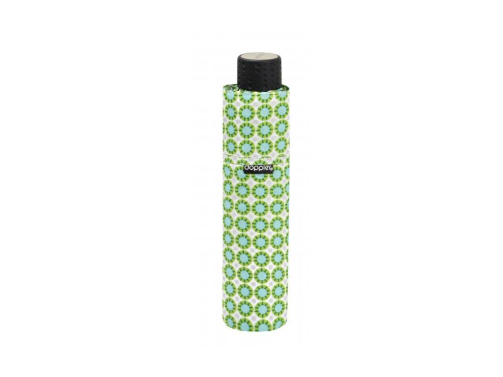 Deštník Fiber Havanna UV odlehčený - zelený