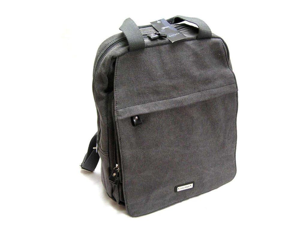 Batoh na notebook Katana - šedivý