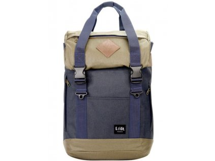 Textilní batoh G.ride Arthur S France - modro zelený