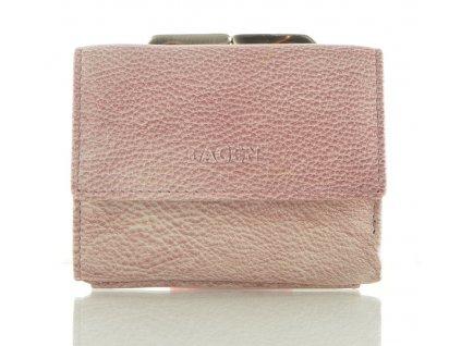 Dámská rámová peněženka Lagen - růžovo fialová