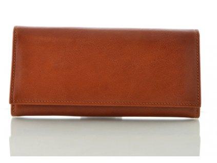 Světle hnědá peněženka Hajn