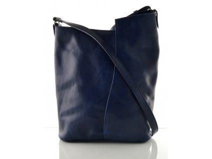 Modrá kabelka Hanj