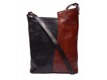 černo hnědá kabelka