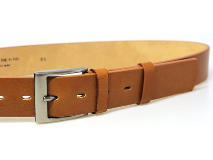 Světle hnědý kožený opasek - Penny Belts