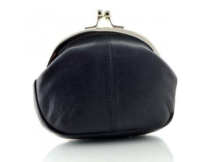 Menší dámská rámová etue - černá