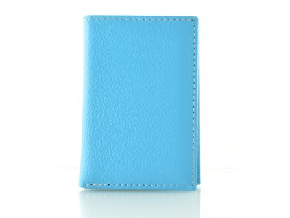 Malá barevná dokladovka - modrá