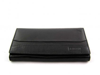 Dámská peněženka Lagen s pruhem - černá