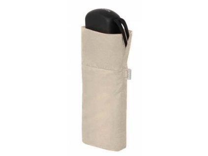 Deštník Handy Uni placatý - béžový