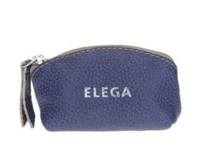 Kožená klíčenka Elega - levandulová