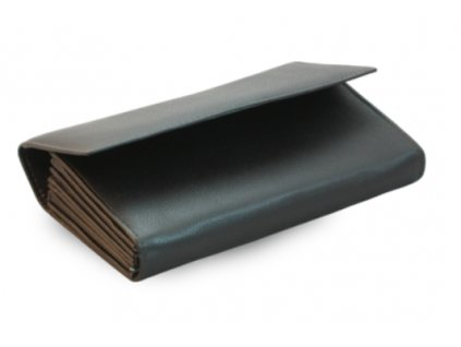 Kožená kasírka Arwel - černá