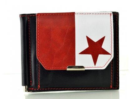 Kožená dolarovka Hajn - Slavia