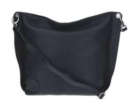 Střední kožené crossbody Elega -Brigitte černá