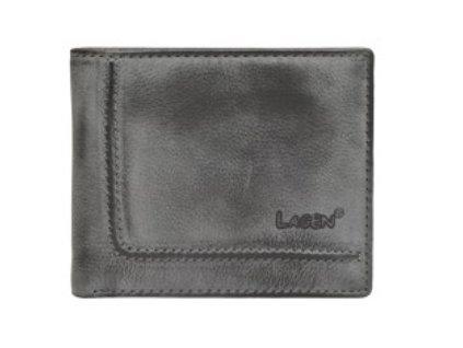 Modro šedá kožená peněženka Lagen