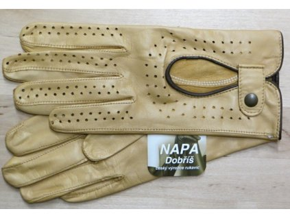 Dámské kožené řidičské rukavice-sahara