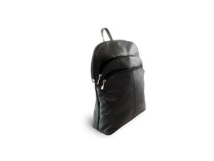 Kožený batoh Arwel - černý