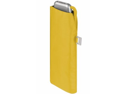 Deštní Doppler placatý carbonsteel slim - žlutý