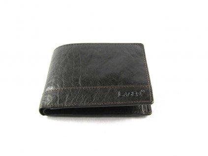 Klasická pánská kožená peněženka značky Lagen - tmavě hnědá