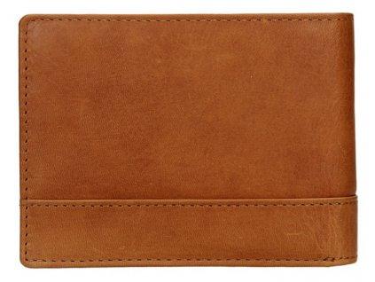 Kožená pánská peněženka Lagen - světle hnědá