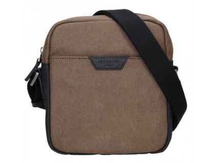 Pánská taška přes rameno Hexagona - hnědá