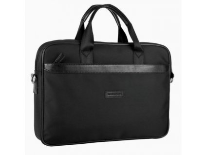 Textilní manažerská taška Hexagona - černá