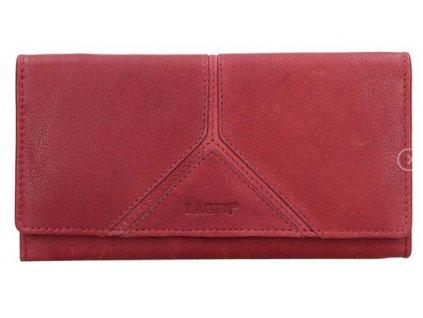 Klasická dámská peněženka Lagen - červená