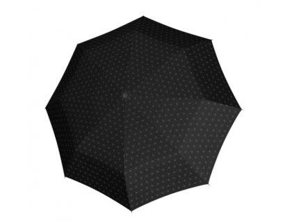 Deštník Fiber Havanna odlehčený - černý vzor