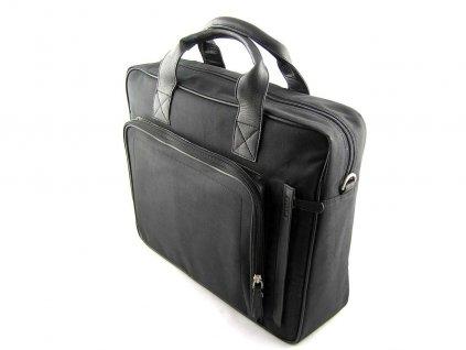 Prostorná textilní taška Lagen - černá