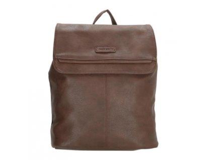 Koženkový batoh Enrico Benetti - hnědý